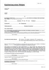 Kaufvertrag beim Chihuahua Welpenkauf