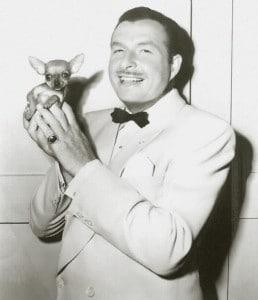 Xavier Cugat mit Chihuahua